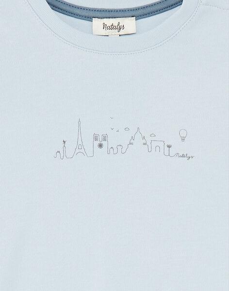 Tee Shirt Manches Courtes Bleu COSTA 21 / 21VU2023N0EC206