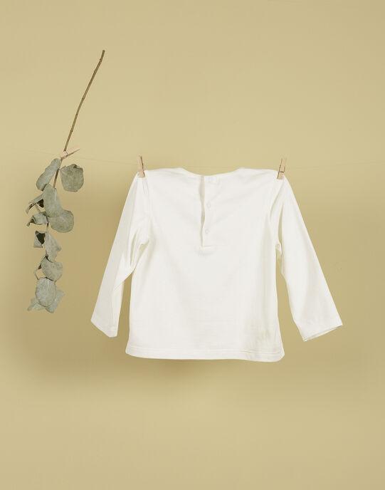 T-shirt motif animal vanille TITOU 19 / 19VU2022N0F114