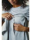 T-shirt de grossesse & allaitement coton bio Boob gris BOTSHIRT GREY / PTXW2612N3DJ920