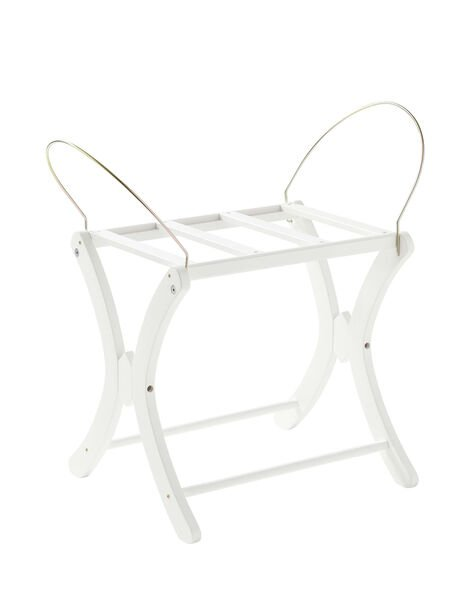 Support couffin losange Poyet Motte blanc 52,5x45,5x50 cm  SUPPORT COUFFIN / 16PCLT002ACL999
