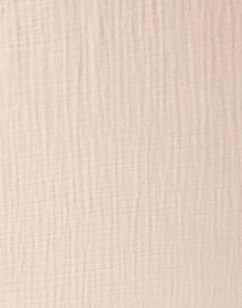 Drap housse rose en gaze de coton 80X40 fille  KAELMINI-EL / PTXQ6211N5B030