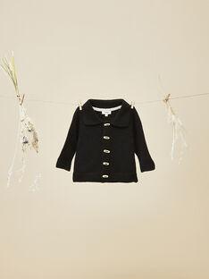 Gilet en tricot noir garçon  VALISE 19 / 19IV2311N12944