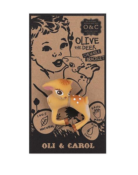 Jouet de dentition et de bain Olive la biche 8,4x7 cm OLIVE LA BICHE / 19PJJO007AJV999
