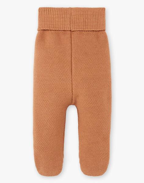 Pantalon tricot mixte caramel DOUDOU 21 / 21PV2415N3A420