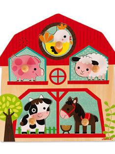 Puzzle musical les copains de la ferme PUZZLE MUSICAL / 16PJJO009JBO999
