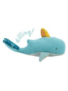 Hochet baleine josephine moulin roty HOCHET BALEINE / 20PJJO003HOC999