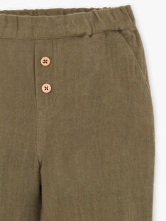 Pantalon gaze de coton biologique DETROIT 21 / 21IU2012N03G614