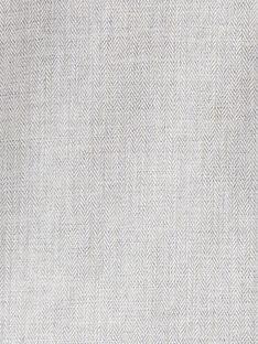 Chemise gris chiné manche longue garçon  BRETT 20 / 20IU20C1N0A943