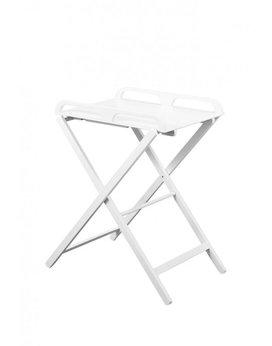 Table A Langer Pliante Jade Laquee Blanc Change Table A Langer