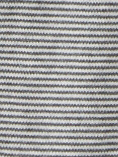 Body manche longue rayé gris chiné garc¸on  BRUNO 20 / 20IU2053N67943