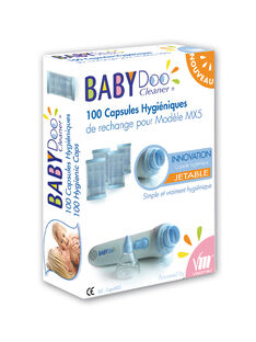 100 capsules jetables mouche bébé Babydoo 100 CAPSULES JT / 15PSSO060AHY999