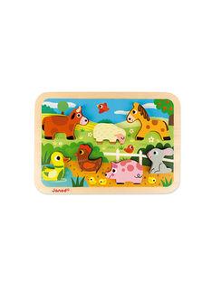 Puzzle ferme Chunky PUZZLE FERME CH / 15PJJO007JBO999