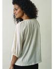 Blouse de grossesse & allaitement coton bio Air Boob pêche BOAIR BLOUSE PE / 20VW2642N09311