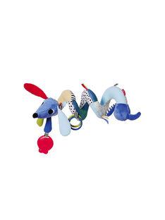 Barre d'activité poussette ou siège auto chien Skip Hop bleu 22x23x30 cm BARRE VILLAGE / 17PJJO025AJV999