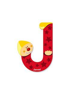 LETTRE CLOWN J LETTRE J / 99P8CH062MUR999