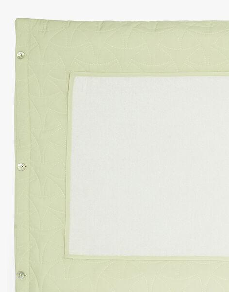 Housse de matelas à langer vert pale matelassé mixte  ALVIN-EL / PTXQ6411N75602