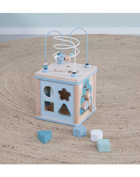 Cube d activites  bleu CUBE ACT BLEU / 20PJJO009JBO999