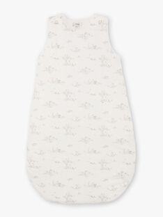 Turbulette mixte couleur vanille imprimé lapin DABULETTE 21 / 21PV5913N66114