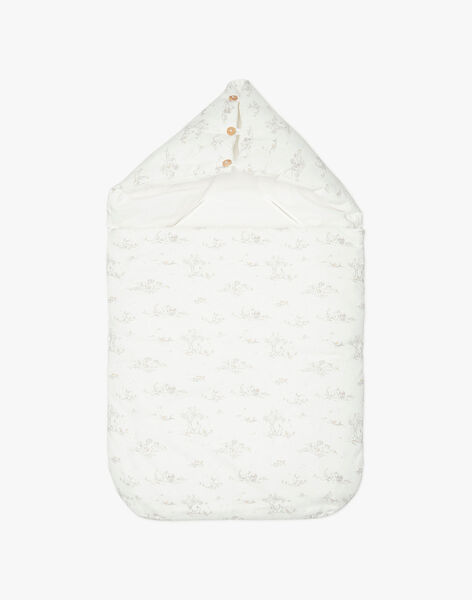 Nid d'ange vanille et imprimés mixte TABANID 19 / 19PV5921N76114