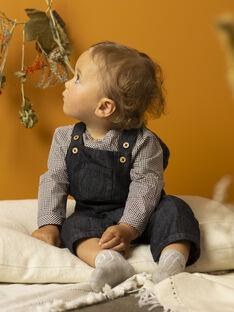 Salopette longue en denim noir bébé garçon  VLADISLAV 19 / 19IU2012N05090