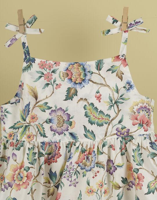 Robe sans manches en Liberty fille TERTY 19 / 19VU1932N18632