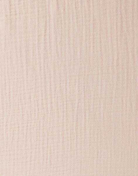 Drap housse rose en gaze de coton 140X70 fille  KAELLE-EL / PTXQ6213N58030