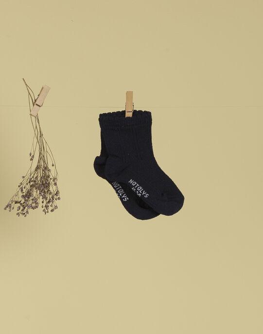 Chaussettes indigo fille TOLEANINA 19 / 19VU6022N47703