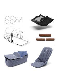 Accessoire poussette Bleu chiné FOX SET BLEU CH / 19PBPO015AAP222
