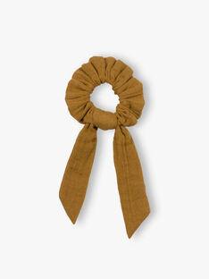 Chouchou enfant fille bronze en gaze de coton biologique CURTO 468 21 / 21V129627N95900