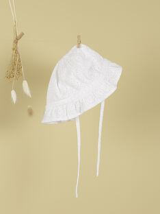 Chapeau blanc fille TELAILA 19 / 19VU6022N55000