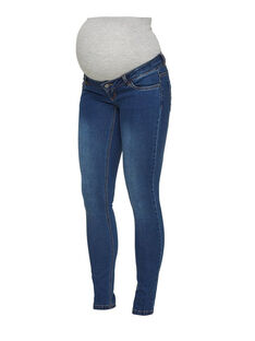 Jeans de grossesse bleu MLOOLA SLIM BLU / 18IW26C6N44704