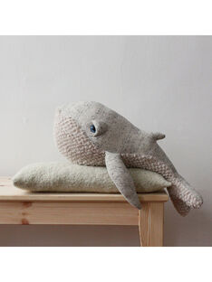 Peluche Baleine Originale 62 cm BigStuffed grise dès la naissance BALEINE ORIG 62 / 19PJPE010GPE999
