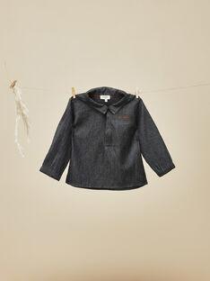 Chemise en flanelle noir bébé garçon VASCO 19 / 19IU2013N0A090