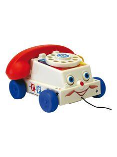 Téléphone à tirer Fisher Price TELEPHONE FISHE / 13PJJO037AJV999