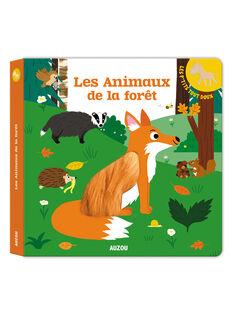 Livre Les Animaux de la forêt ANI DE LA FORET / 18PJME010LIB999
