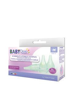 8 embouts jetables pour mouche-bébé par aspiration mx-20 babydoo cleaner KIT 8 EMBOUTS / 18PSSO036AHY999