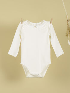 Body manches longues vanille fille TIANY 19 / 19VU1922N29114