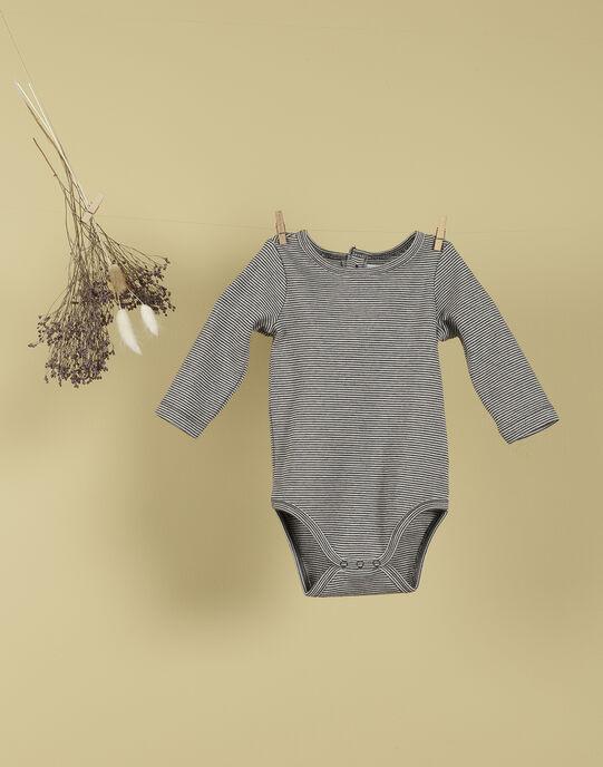 Body imprimé gris chiné mixte TALUBIN 19 / 19PV2421N67944