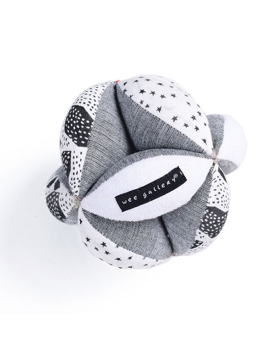 Balle d'éveil bébé Wee Gallery grise 0-3 ans BALL PREHENSION / 19PJJO020AJV999