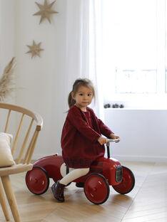Porteur voiture vintage rouge PORTEUR ROUGE / 20PJJO001GJO050