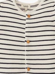 Combinaison mixte rayé en tricot  ARTHENOUS 20 / 20PV2412N26114