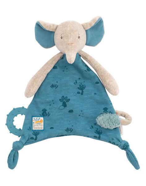 Doudou attache tetine elephant moulin roty DOUDOU ELEPHANT / 20PJPE002PPE999
