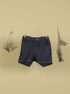 Short en jean bleu garçon TOBIAS 19 / 19VU2011N02704