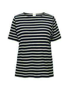 T-shirt de grossesse & allaitement coton bio Boob rayures bleu marine BOBRETON TS / 20VW2644N3D713