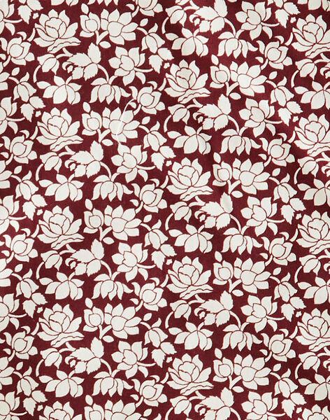 Combinaison fille raisin en imprimé Liberty fleurs  BASTIENNE 20 / 20IV2252N26711