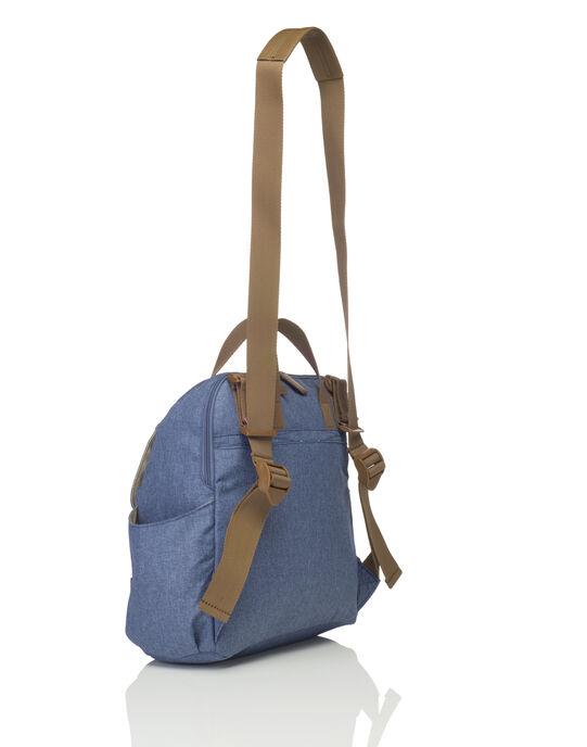 Sac à dos à langer Robyn bleu ROBYN MID BLUE / 18PBDP009SCC208