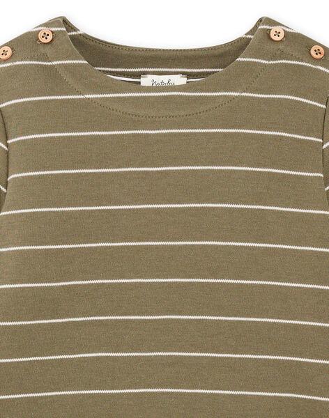 Tee-shirt rayé coton pima DIEGO 468 21 / 21I129213N0F600