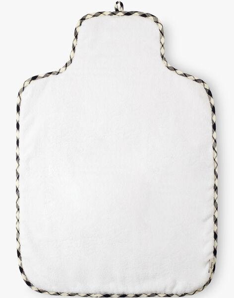 Matelas à langer à carreaux vichy noir et vanille mixte  AMADEO-EL / PTXQ6311N79114
