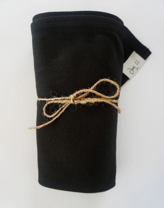 Porte-bébé coton bio Sling Simple June 22 noir dès la naissance PBB BLACK / 19PBDP011PBB090