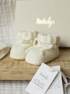 Chaussons bébé mixte vanille BALUCHON-EL / PTXV7011N96114